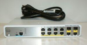 Cisco-Catalyst-WS-C3560-C-8PC-S-3560-C-Series-PoE-8-Port-Rack-Mountable-Switch