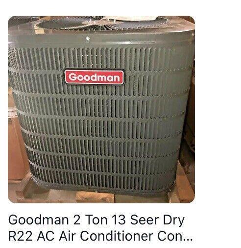 Goodman Condenser Unit Gsc130241ae For Sale Online Ebay