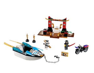 LEGO Juniors Ninjago Movie 10755 Zane's Ninja Boat Pursuit - NEW & SEALED