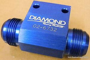 Diamond-Racing-02-6732-Dry-Sump-Manifold-Fitting-16AN-Male-1-1-2-034-NPT-Female