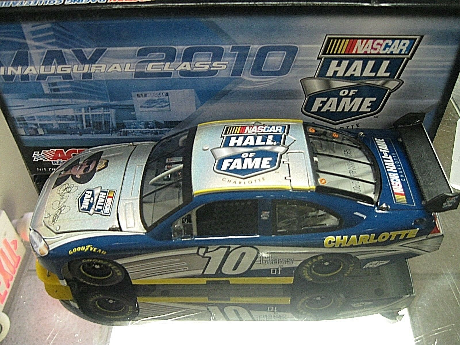 RARE  2010 RICHARD PETTY HALL OF FAME INDUCTION INAUGURAL CLASS ONE OF 2018 MADE