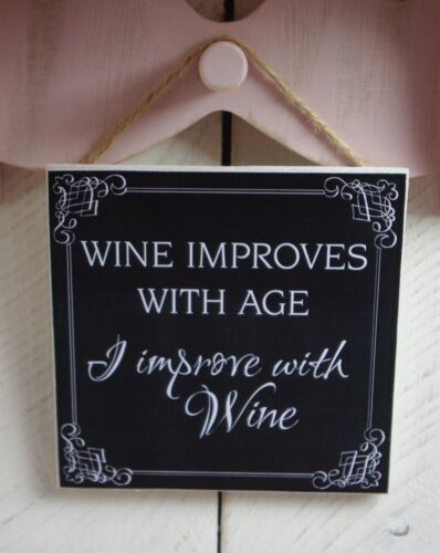 christmas plaques signs presents gifts birthday drink funny alcohol wine quotes