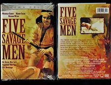 Five Savage Men (Brand New DVD, 2005, Cinema Deluxe)