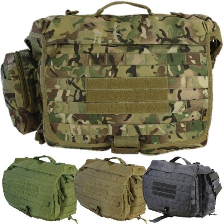 ARMY 25 LITRE OPERATORS GRAB BAG TACTICAL SPORTS MOLLE SHOULDER BAG MTP BTP CAMO