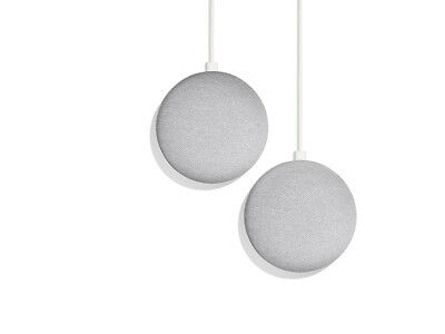 SAVE $20! on 2-Pack Bundle - Google Home Mini (CHALK)