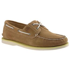 Details zu Timberland CLS2I Boat 6200A Schuhe Schnürschuhe Halbschuhe Herren braun Leder