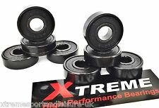 *16 pack ABEC 9 XTREME HIGH PERFORMANCE BEARINGS SKATEBOARD SCOOTER + STICKER 11