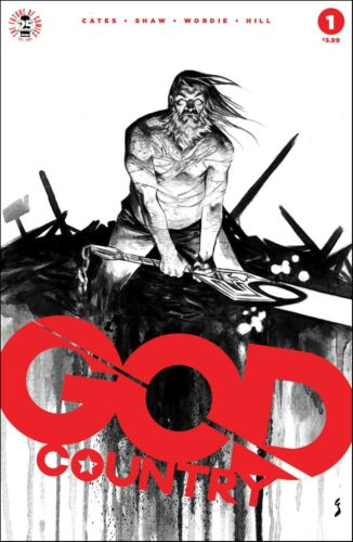 GOD COUNTRY #1 sold-out 4th Print IMAGE COMICS Donny Cates