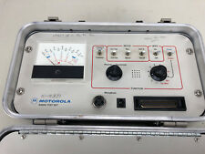 Motorola Radio Test Set R 1033a In Case With Manual With Cables