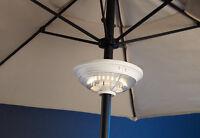 Sharper Image Rechargeable Super-bright 24-led Patio Umbrella Light