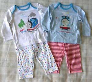 5fa134d26 Thomas The Tank Engine 2 x Baby Boys Pyjamas PJ s Nightwear ...