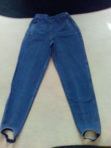 Vintage Liz Claiborne's Stirrup Jeans Med Blue Siz
