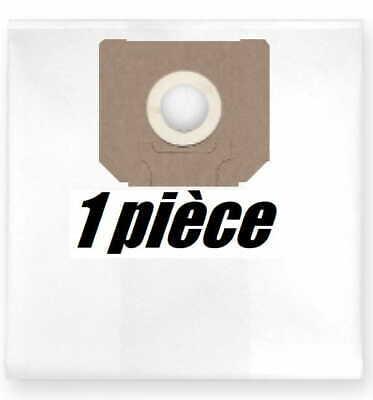 r/éutilisable pour aspirateur Hilti VCD 50 1x Sac-filtre tissus /à fermeture /éclair