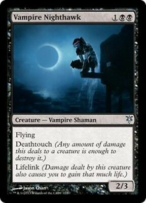 1x Vampire Nighthawk NM-Mint Zendikar vs Eldrazi MTG Magic English Duel Decks