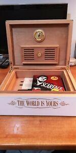 Scarface-Humidor-cigar-box-Marshall-steelbook-bluray