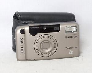Fujifilm-Fotonex-250ix-Zoom-25-55mm-APS-Film-Camera-Point-and-Shoot-P-amp-S-No-Box