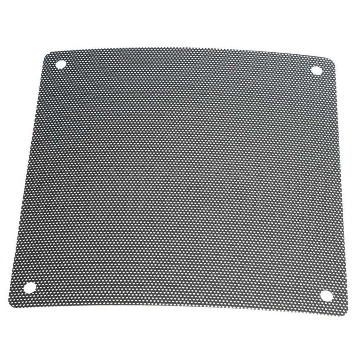 5X120Mm Cuttable Black Pvc Pc Fan Dust Filter Dustproof Case Computer Mesh GF