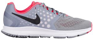 Nike Air Zoom Span Women's Running Shoe 12 Stealth / Black/ Pink ( 852450-009 )