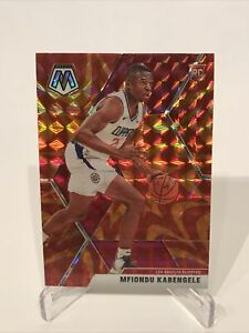 2019-20 Panini Mosaic Basketball Mfiondu Kabengele Orange Reactive Prizm