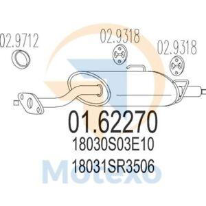 MTS-01-62270-Exhaust-HONDA-Civic-1-6-VTi-16V-160bhp-11-91-12-95