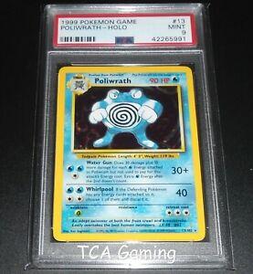 Poliwrath 13//102 EXCELLENT Fast P/&P! Base Set Holo Pokemon Card Rare