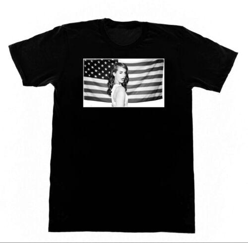 Flag Shirt M85 Tshirt Lana Del Rey