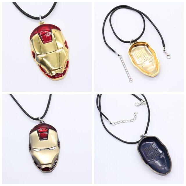 New  Iron Man Movie Fashion jewelry Metal Necklace Pendant