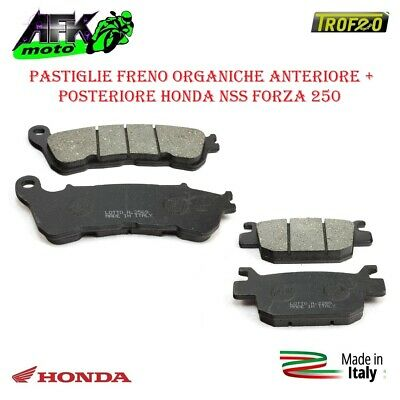 Cyleto pastiglie freno posteriore per NSS forza 250 NSS250 250 2005 2006 2007 2008//NSS 300 NSS300 forza 300 2013 2014