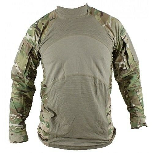 US Army Combat Shirt ACS Massif Flame Resistant Multicam Large for sale  online  88028be10d