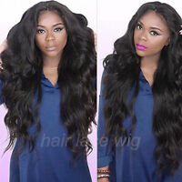 Virgin Hair Lace Front Wig Brazilian Human Hair Full Lace Wigs With Baby Hair A