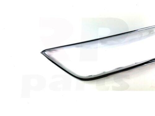 Per SEAT LEON 5F 2012-2017 NUOVO Paraurti Anteriore Chrome Trim 5F08546432ZZ