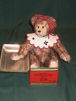 THURSTON McMINDES MOHAIR BEAR 1 OF A KIND TOFFEE OOAK