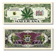 100 Factory Fresh Medical Marijuana 420 Dollar Bills - Hot Seller!