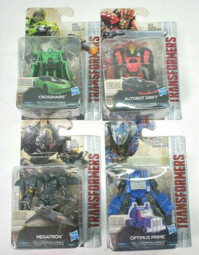 Optimus Prime Crosshairs Autobot Drift Megatron Lot of 4 TRANSFORMERS