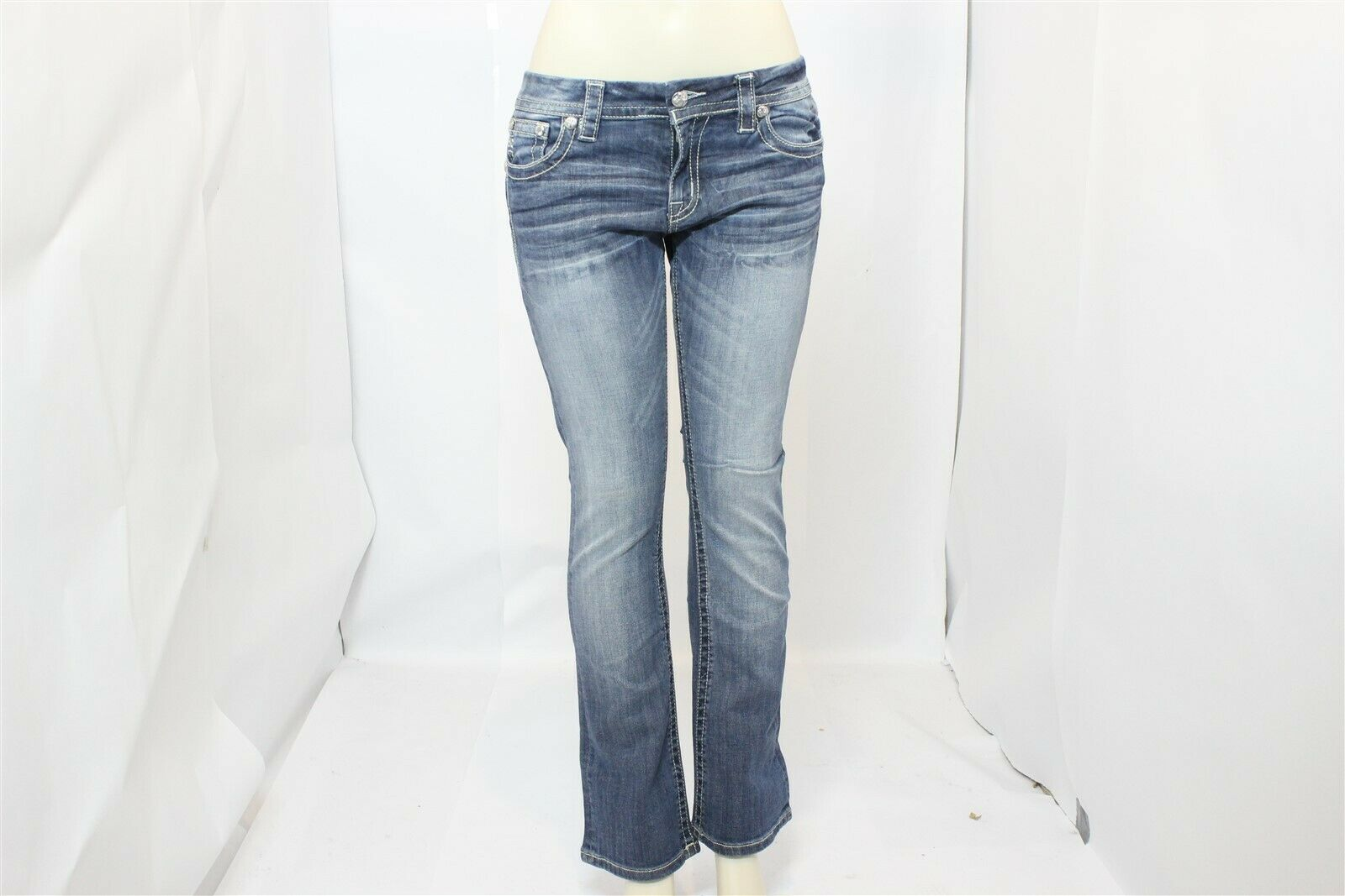 Women's MISS ME Size 31 x 31 Signature Boot Stretch Jean - Style JE8666 - NWOT