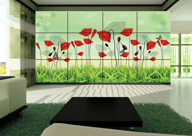 3D Fiori belli 34 Parete Murale Carta da parati immagine sfondo muro stampa