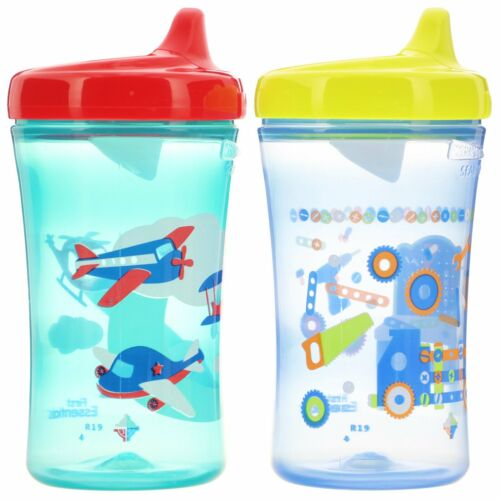 Boy Colors and Styles May Vary 2 Cups NUK Gerber Graduates 10 oz 12+ Months