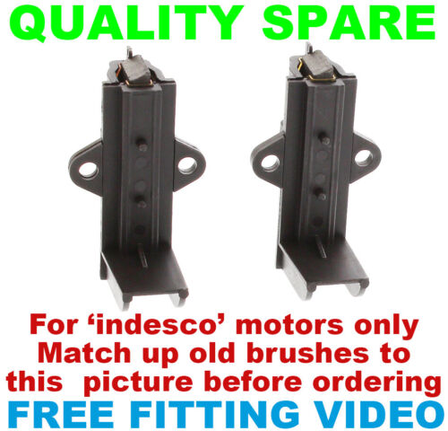 HOOVER Washing machine carbon brushes for INDESCO motors fitting video