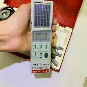 Professional-dosimeter-counter-for-beta-gamma-radiation-DKS-01-Solar-charge
