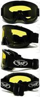Windshield Yellow Hd Anti Fog Lens Fit Over Glasses Goggles Night Driving Z87+