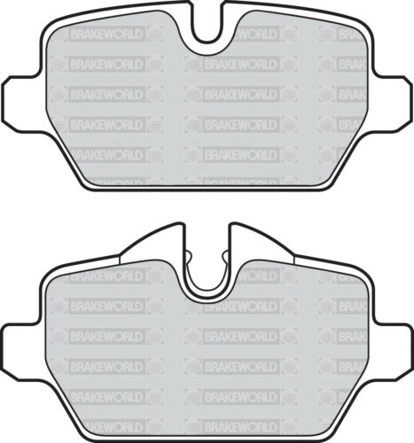 OEM SPEC REAR DISCS PADS 280mm FOR BMW 116 1.6 E87 2004-09