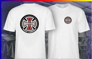 Men-039-s-T-shirt-Independent-Truck-Company-Iron-Cross-Skateboard-T-Shirt-Size-S-5XL