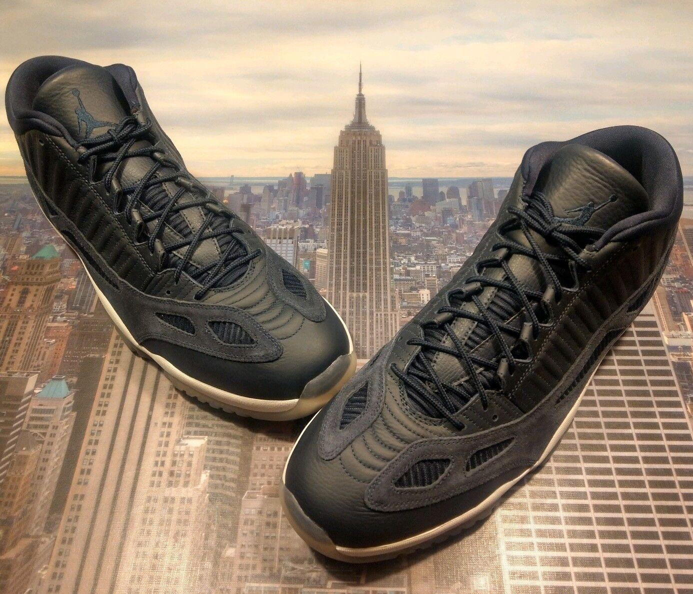 Nike Air Jordan XI 11 Retro Low IE Obsidian White Mens Size 18 919712 400 New