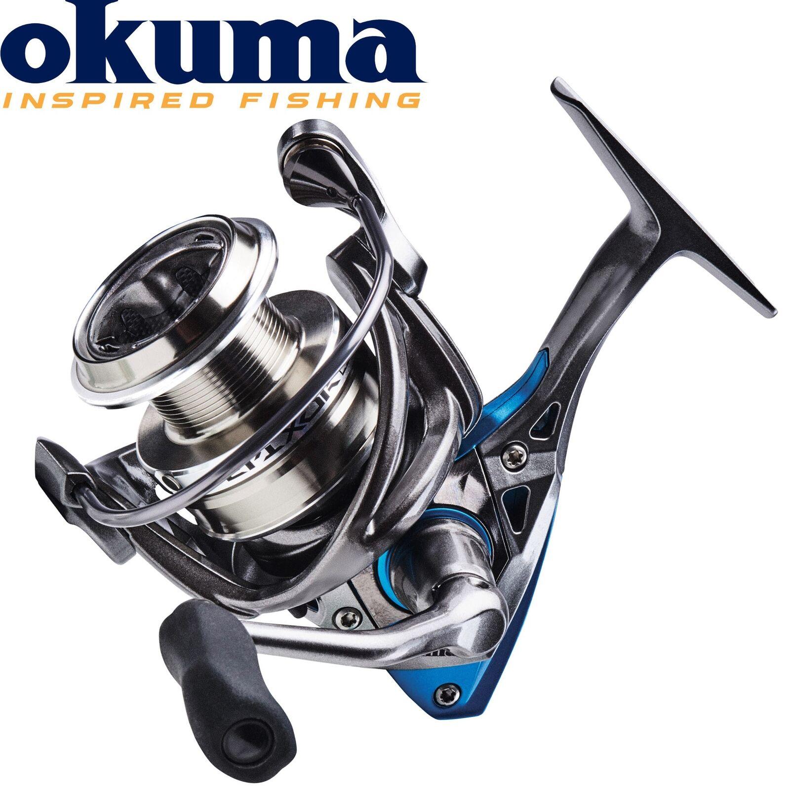 Okuma Epixor LS Spinning EPL-50 - Spinnrolle zum Hechtangeln, Hechtrolle, Rolle