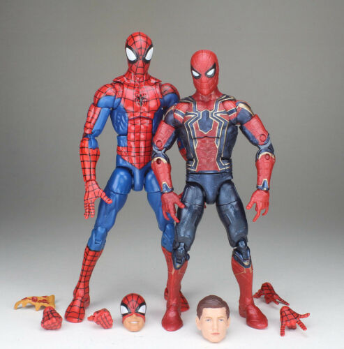 Marvel Legends Avengers Infinity War Pizza Spiderman Iron Spider Tom Holland Fig