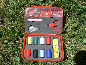 NUOVO-Set-per-cucito-Sewing-kit-rosso