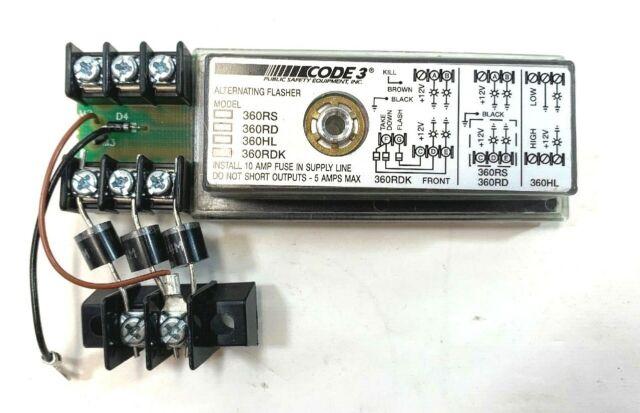 12V Volt Wig-Wag Headlight Flasher Unit Alternating Flashing Kit