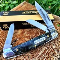 Pocket Knife Three Blade Schrade Imp17s