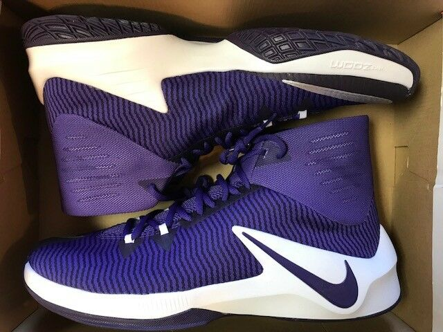NIKE ZOOM CLEAR OUT TB SIZE 14 MEN'S BASKETBALL SHOES (844372 555)