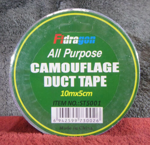 Fidragon All Purpose Camouflage Duct Tape #1991 1 Roll